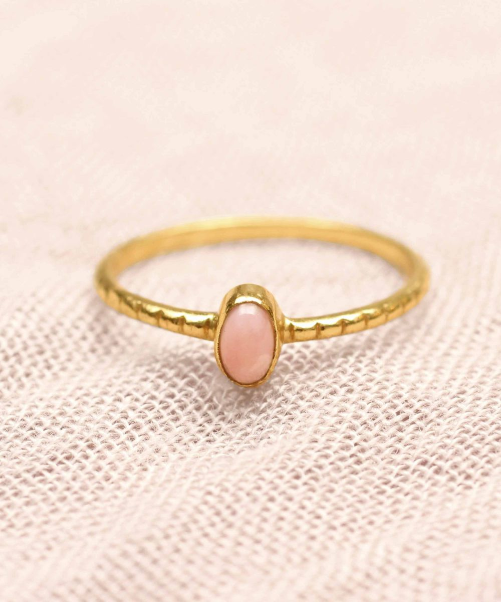 d ring size 54 oval xs rhodonite gold plated