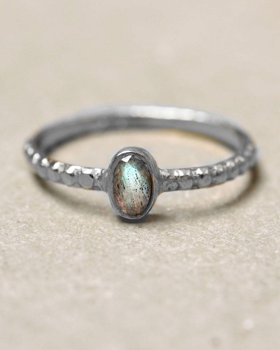 c ring size 56 oval xs labradorite