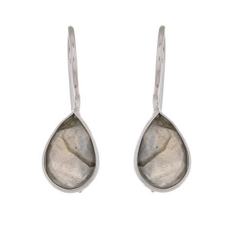 d earring drop labradorite