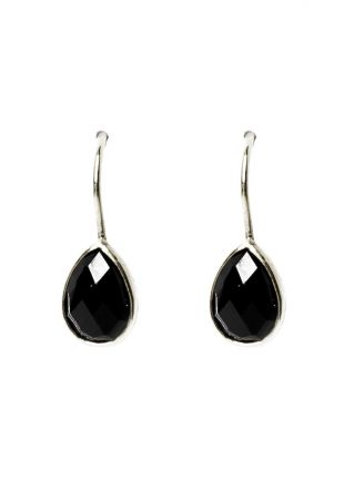 Earring hanging teardrop