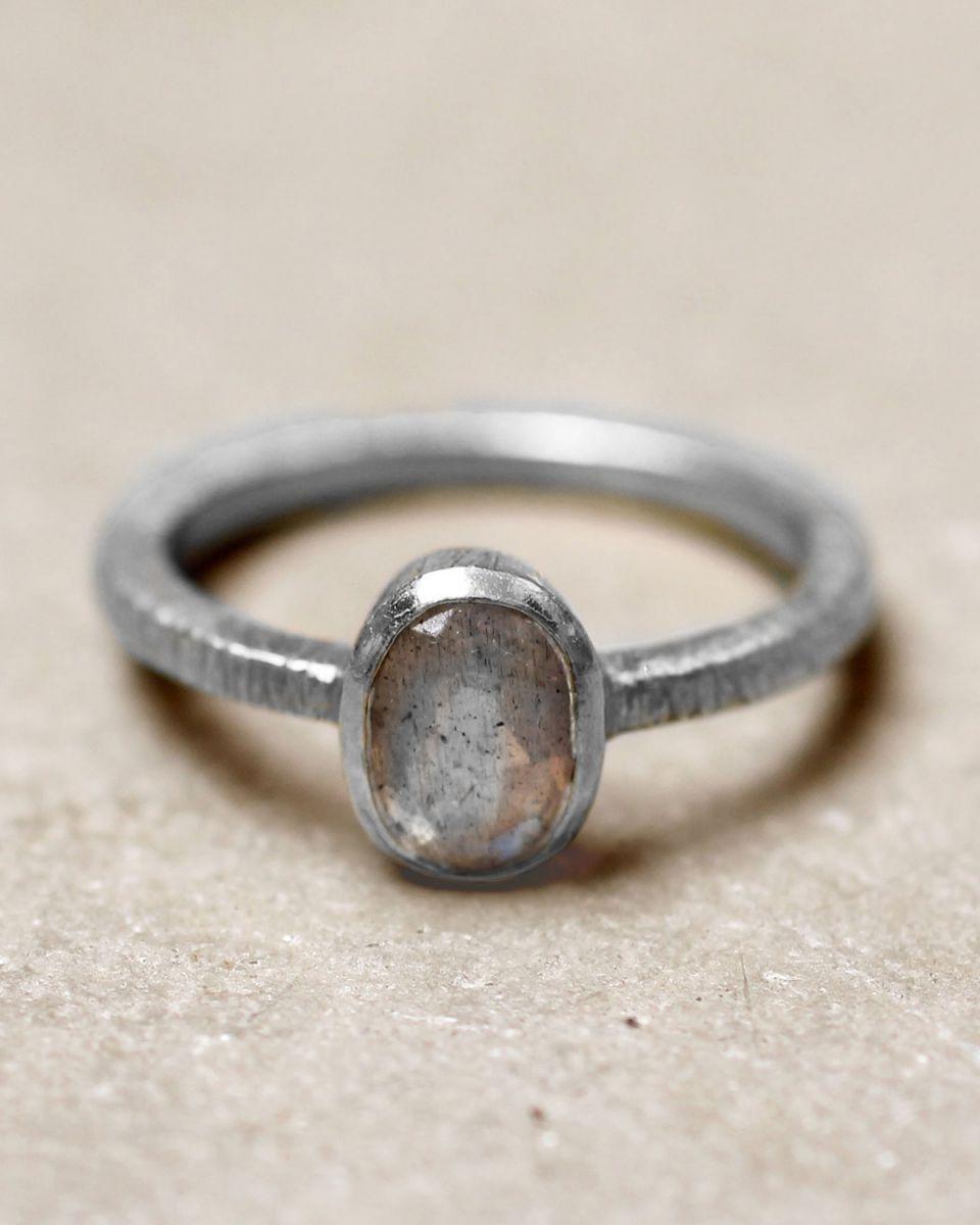 d ring size 56 85 oval labradorite
