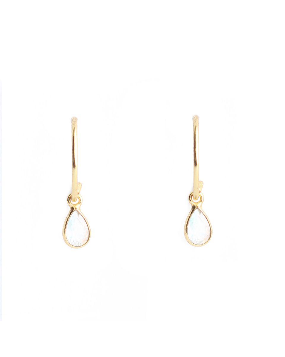 earring hanging tiny drop