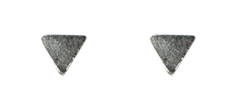 earring stud triangle