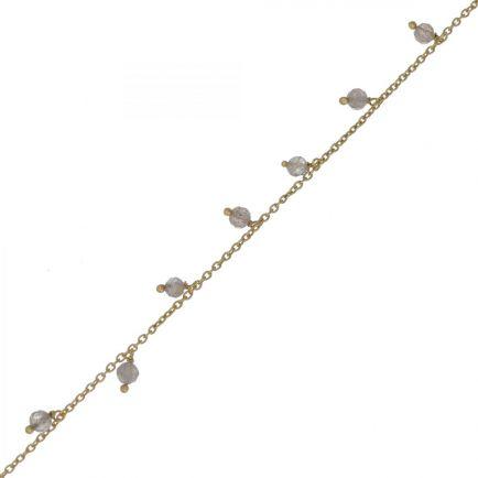 Bracelet 3mm 8 beads