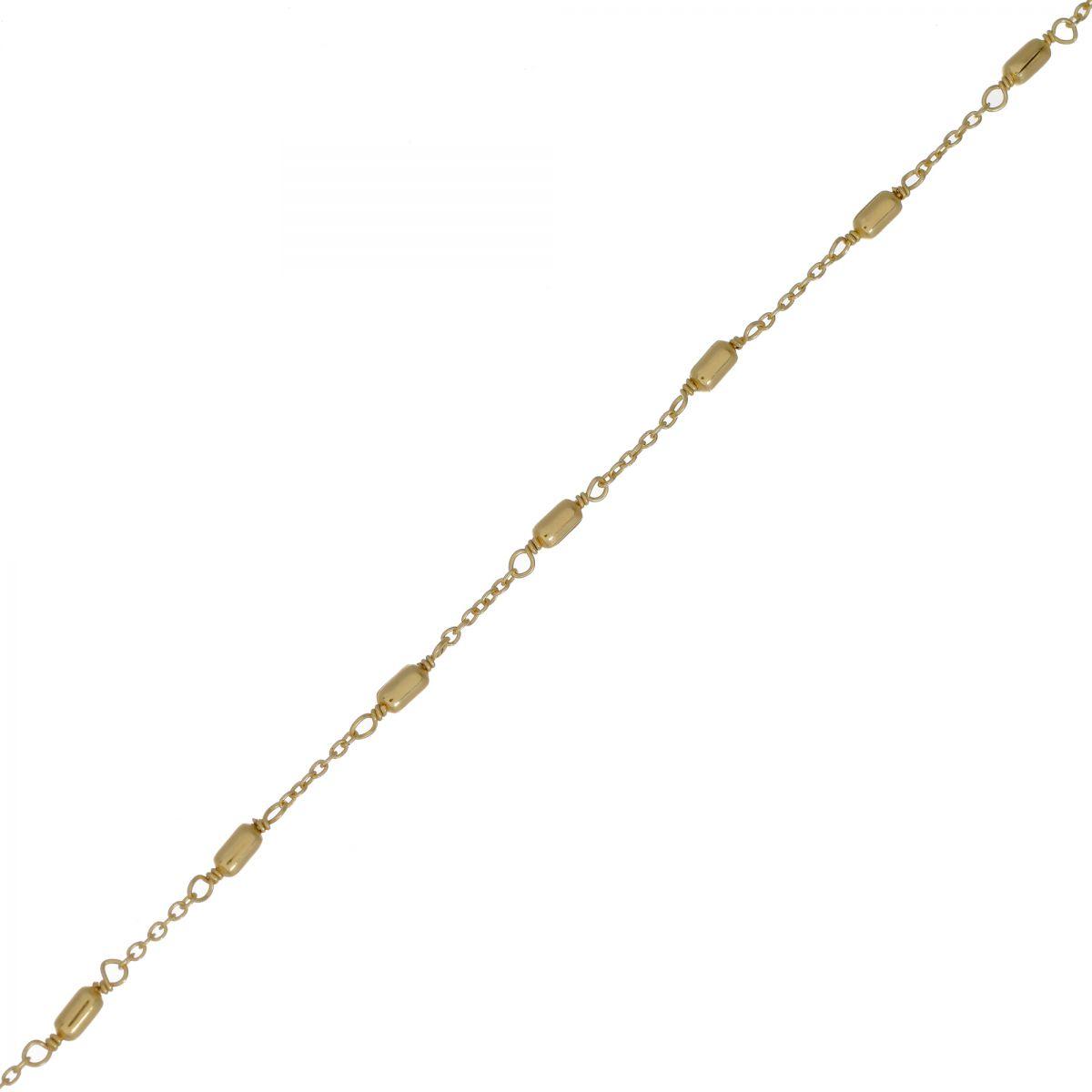 f bracelet sticks gold plated
