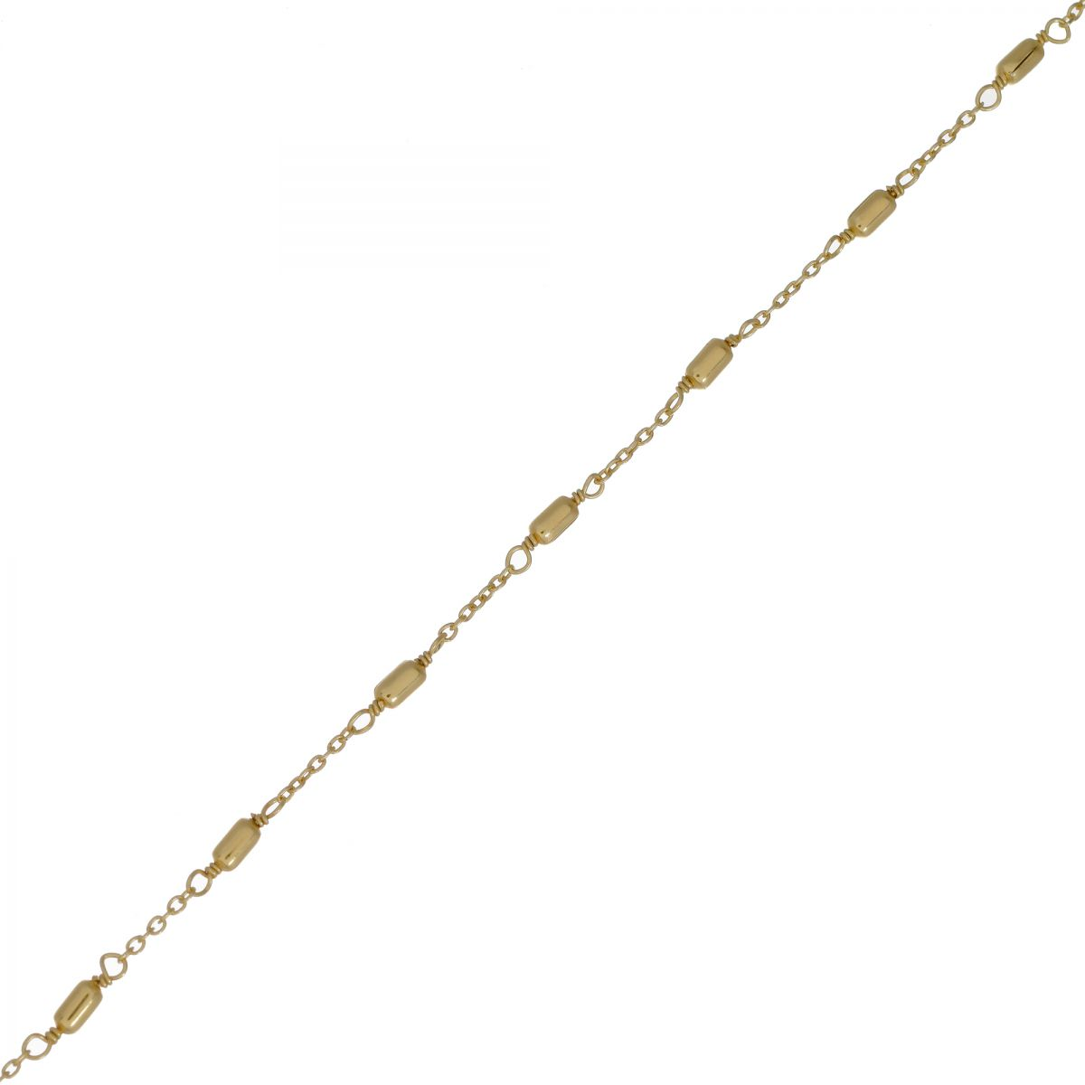 f bracelet sticks gold plated