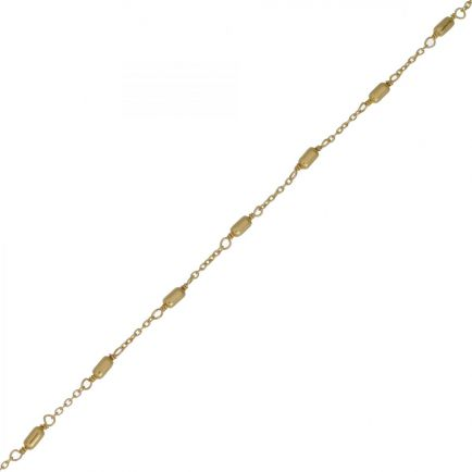 F- bracelet sticks gold plated