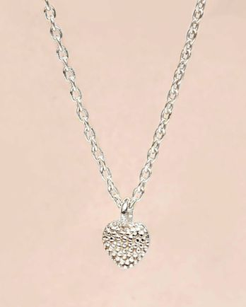 F-collier heart 5mm - 55cm