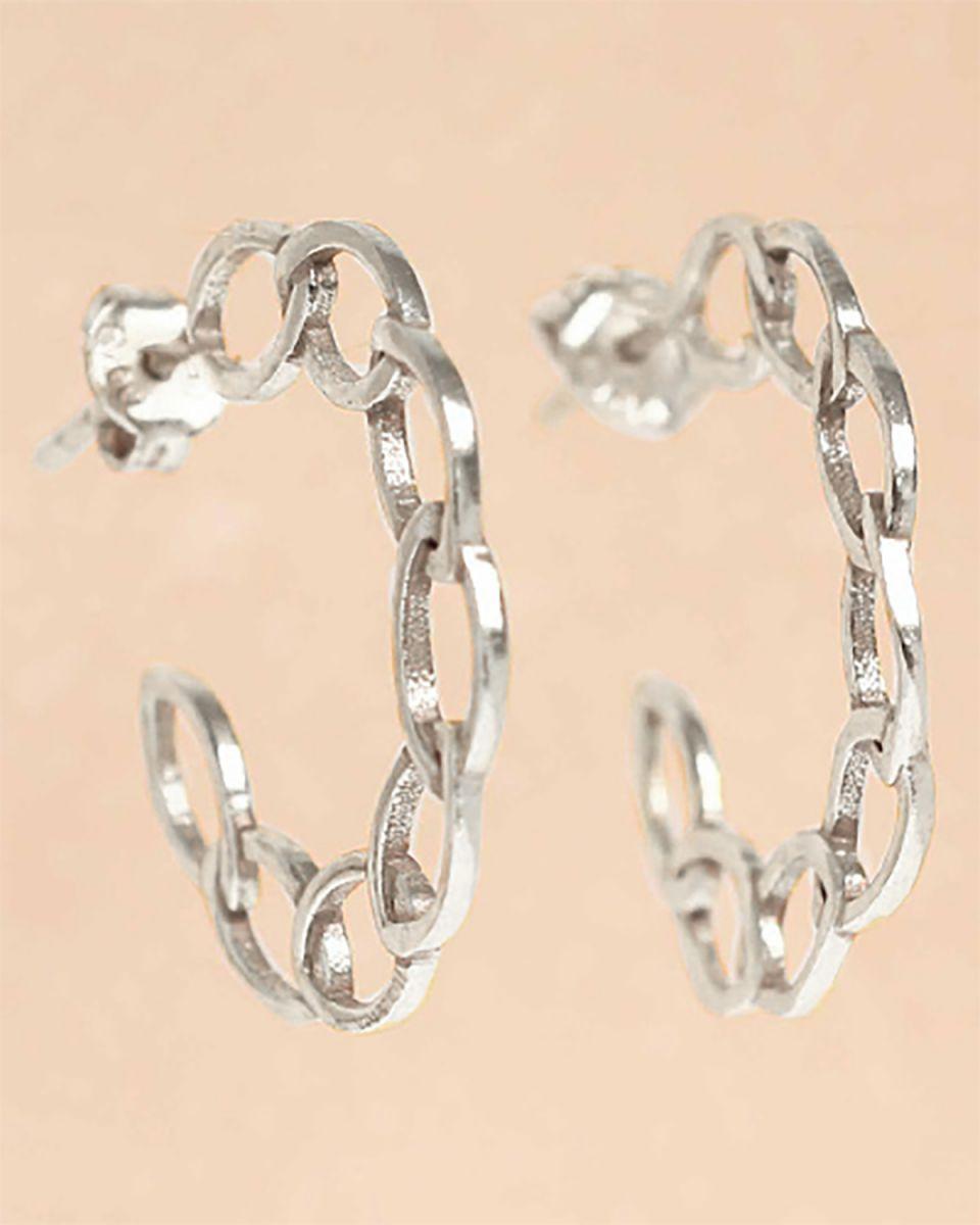 f earring open cirkels hoop