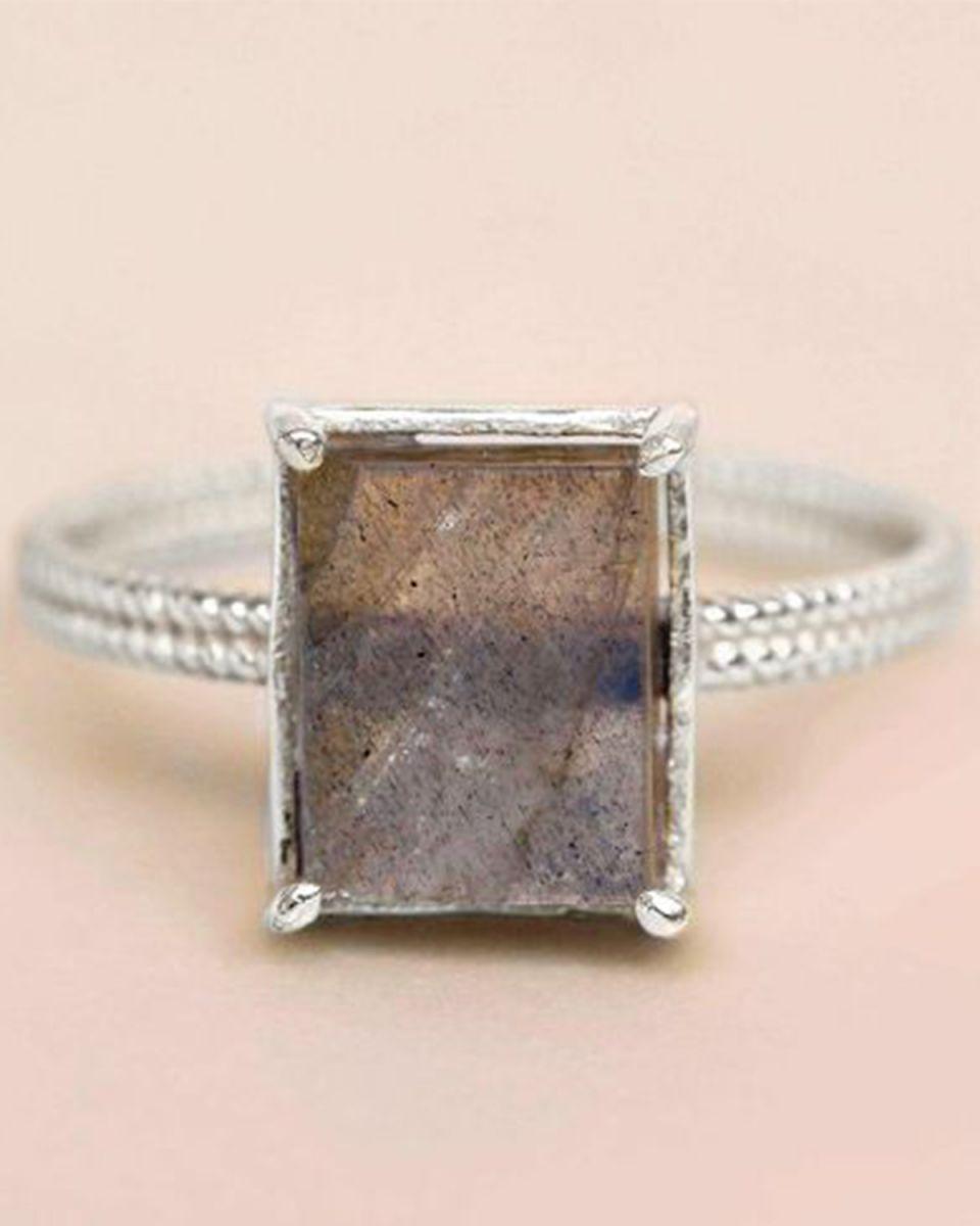f ring size 52 labradorite big square