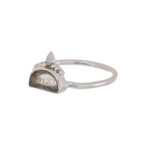 f ring size 54 labradorite etnic moon