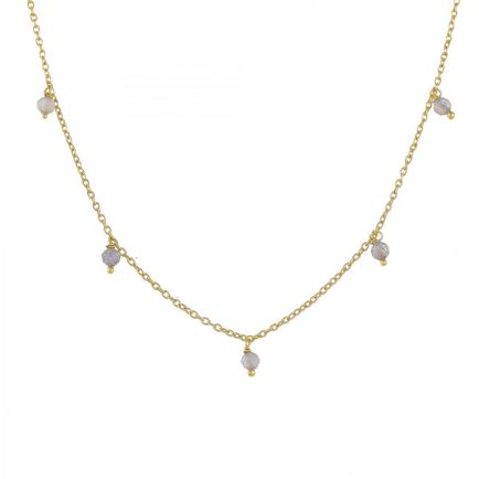 Collier 3mm beads 45cm